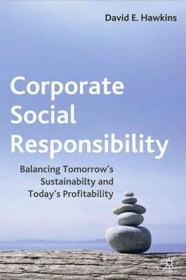 Corporate Social Responsibility: Balancing Tomorrow's Sustainability and Today's Profitability (Hardback)