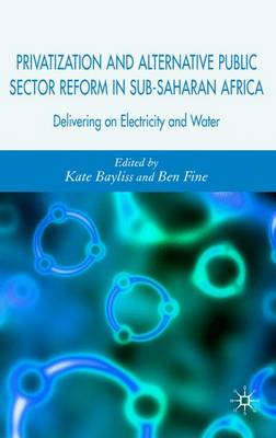 Privatization and Alternative Public Sector Reform in Sub-Saharan Africa: Delivering on Electricity and Water (Hardback)