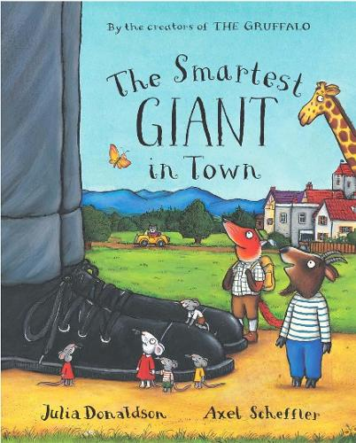 The Smartest Giant in Town Big Book (Paperback)