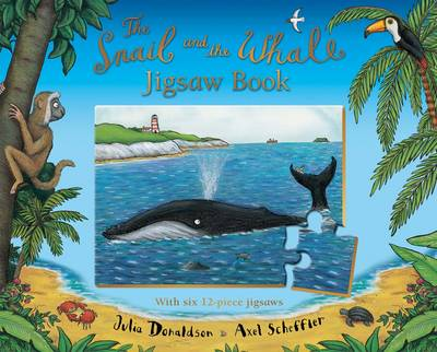 The Snail and the Whale Jigsaw Book (Board book)