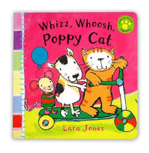 Whizz, Whoosh, Poppy Cat (Board book)