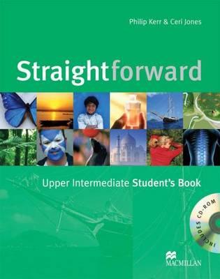 Straightforward - Student Book - Upper Intermediate - With CD Rom (Board book)