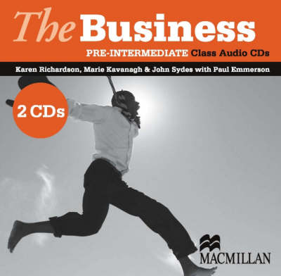 The Business Pre-Intermediate Class Audio CDs (2) B1 (CD-Audio)