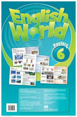 English World 6 Posters (Wallchart)