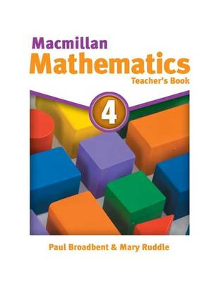 Macmillan Mathematics 4: Teacher's Book (Paperback)