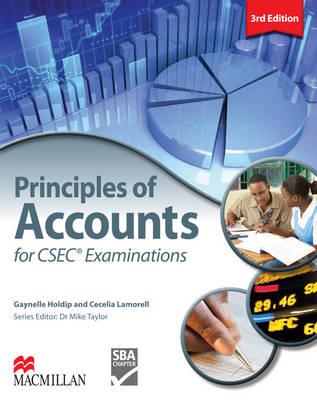 Principles of Accounts for CSEC Examinations (Paperback)