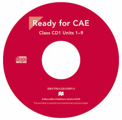 Ready for CAE Audio CD (Board book)