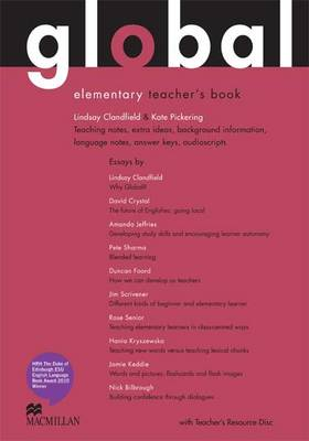 Global - Teacher Book - Elementary - With Resource DVD - CEFA1 / A2 (Board book)