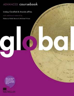 Global - Coursebook - Advanced - with eWorkbook - CEF C1 (Board book)