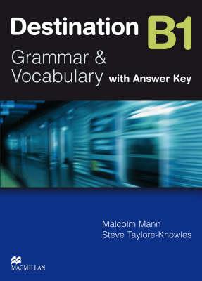 Destination B1 Pre Intermediate Student Book +key (Paperback)
