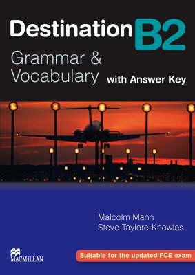 Destination B2 Intermediate Student Book +key (Paperback)