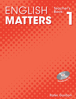 English Matters (Caribbean) Level 1: Teacher's Book and CD Pack