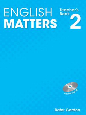 English Matters (Caribbean) Level 2: Teacher's Book & CD Pack