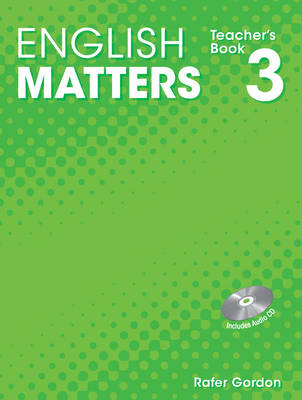 English Matters Teachers Book 3 with CD-ROM