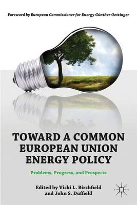 Toward a Common European Union Energy Policy: Problems, Progress, and Prospects (Hardback)