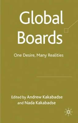 Global Boards: One Desire, Many Realities (Hardback)
