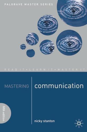 Mastering Communication - Macmillan Master Series (Paperback)