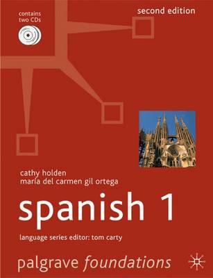 Foundations Spanish: Level 1 - Palgrave Foundation Series Languages (Paperback)