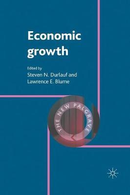Economic Growth - The New Palgrave Economics Collection (Paperback)
