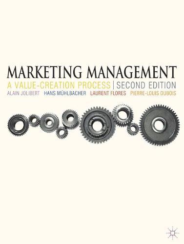 Marketing Management: A Value-Creation Process (Paperback)