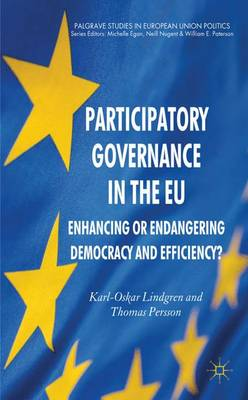 Participatory Governance in the EU: Enhancing or Endangering Democracy and Efficiency? - Palgrave Studies in European Union Politics (Hardback)
