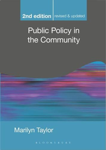 Public Policy in the Community - Public Policy and Politics (Paperback)