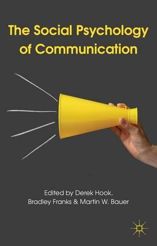 The Social Psychology of Communication (Paperback)