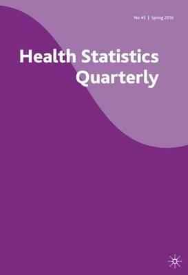 Health Statistics Quarterly: Summer 2010 No. 46 (Paperback)