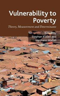 Vulnerability to Poverty: Theory, Measurement and Determinants, with Case Studies from Thailand and Vietnam (Hardback)