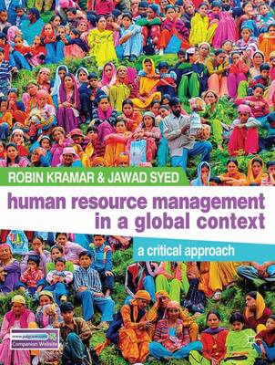 Human Resource Management in a Global Context: A Critical Approach (Paperback)