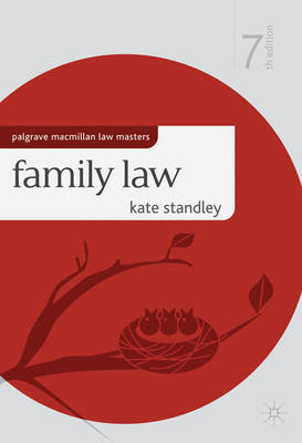 Family Law - Palgrave Macmillan Law Masters (Paperback)