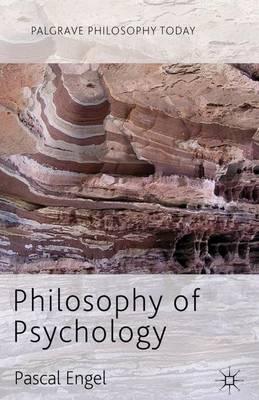 Philosophy of Psychology - Palgrave Philosophy Today (Hardback)