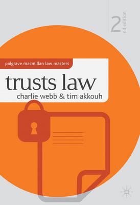 Trusts Law - Palgrave Macmillan Law Masters (Paperback)