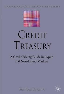 Credit Treasury: A Credit Pricing Guide in Liquid and Non-Liquid Markets - Finance and Capital Markets Series (Hardback)