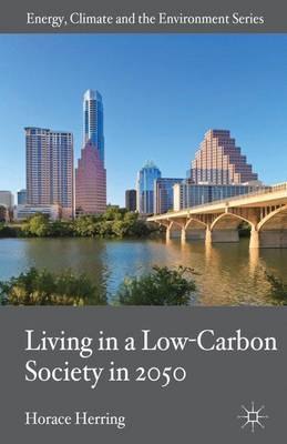 Living in a Low-Carbon Society in 2050 - Energy, Climate and the Environment (Hardback)