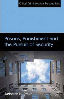 Prisons, Punishment and the Pursuit of Security - Critical Criminological Perspectives (Hardback)