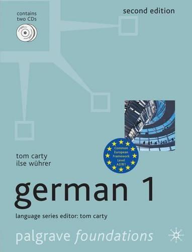 Foundations German 1: 1 - Palgrave Foundations Languages (Paperback)