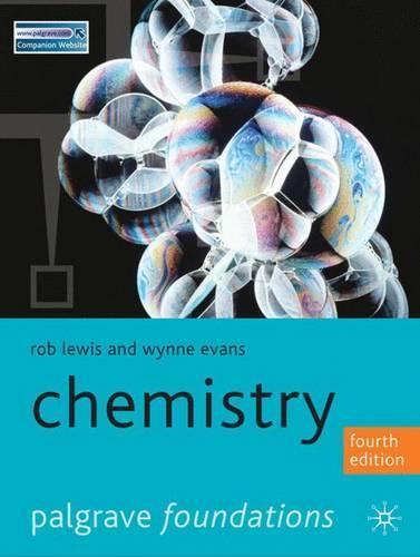 Chemistry - Palgrave Foundations Series (Paperback)