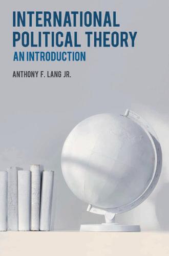 International Political Theory: An Introduction (Hardback)