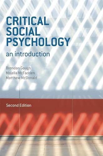 Critical Social Psychology: An Introduction (Paperback)