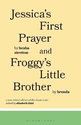 Jessica's First Prayer and Froggy's Little Brother - Classics of Children's Literature (Paperback)