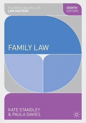 Family Law - Palgrave Law Masters (Paperback)