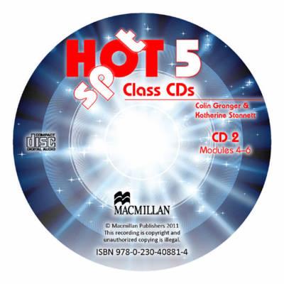 Hot Spot Level 5: Class Audio CD International