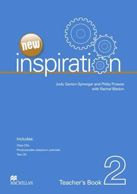 New Edition Inspiration Level 2 Teacher's Book & Test CD & Class Audio CD Pack