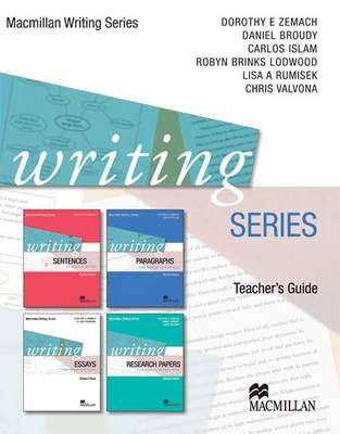 Writing Series Teacher's Guide (Paperback)