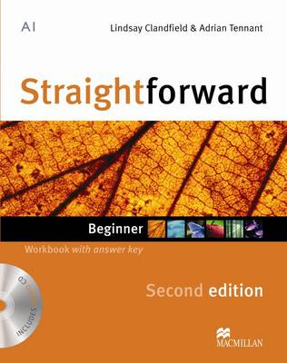 Straightforward 2nd Edition Beginner Workbook with key & CD