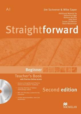 Straightforward (2nd Edition) Beginner Teacher's Book Pack (Board book)