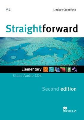 Straightforward 2nd Edition Elementary Level Class Audio CDx2 (CD-Audio)