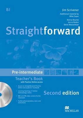Straightforward Pre-intermediate Level Teachers Book Pack 2E (Board book)