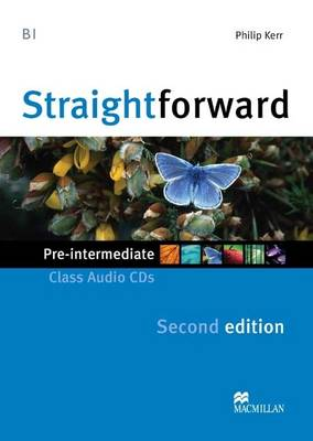 Straightforward 2nd Edition Pre-Intermediate Level Class Audio CDx2 (CD-Audio)